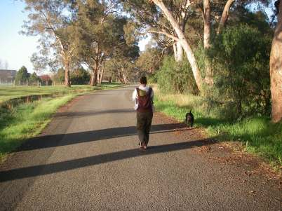 Early morning stroll in my home town in Australia.