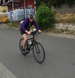 My first Olympic distance triathlon in 2016!